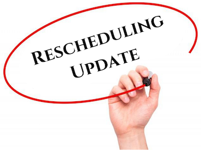 Rescheduling Update